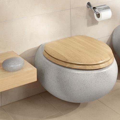vas wc suspendat villeroy boch seria pure stone gri 567010u9. Black Bedroom Furniture Sets. Home Design Ideas