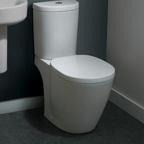 set vas wc aquablade cu rezervor alimentare laterala arc ideal standard seria connect e042901. Black Bedroom Furniture Sets. Home Design Ideas