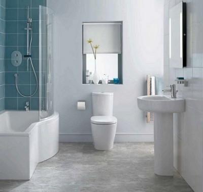 poza Set vas WC cu functie de bideu si rezervor alimentare laterala ARC, IDEAL STANDARD seria CONNECT E781701+E786101