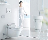 WC cu bideu