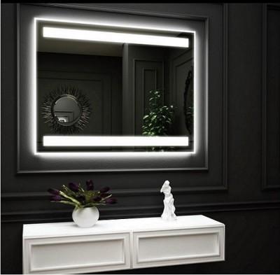 poza Oglinda cu iluminare interioara LED sus jos si iluminare LED pe perete O VIRRO seria CARMEN