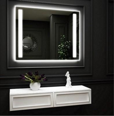 poza Oglinda cu iluminare LED interioara laterala si iluminare LED pe perete O VIRRO seria DENISSA