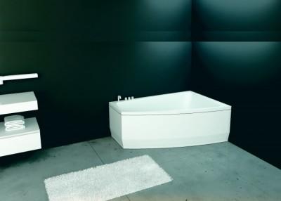 poza Panou pentru cada de baie asimetrica FIBREX seria SENSE II