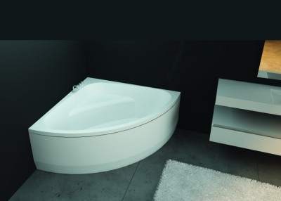 poza Panou pentru cada de baie de colt FIBREX seria SENSE III