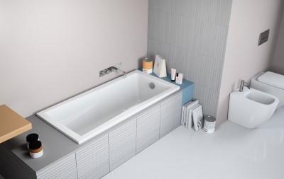 poza Panou lateral pentru cada de baie dreptunghiulara RADAWAY seria ARKADIA