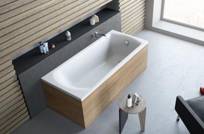 poza Panou lateral pentru cada de baie dreptunghiulara RADAWAY seria KEA