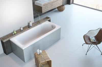 poza Panou lateral pentru cada de baie dreptunghiulara RADAWAY seria NEA
