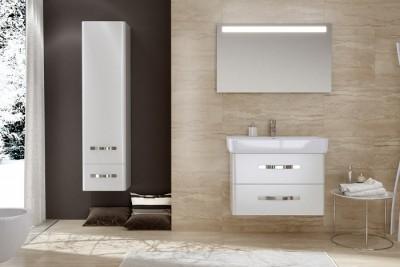 Set mobilier de baie cu lavoar si oglinda ROVESE seria URBAN HARMONY