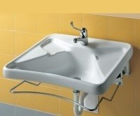 Sistem montaj obiecte sanitare persoane cu dizabilitati