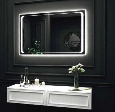 poza Oglinda cu iluminare LED interioara perimetrala si exterioara pe perete O'VIRRO seria BEATRICE