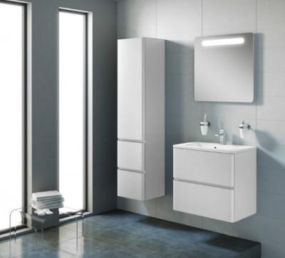 poza Set mobilier de baie cu lavoar si oglinda ORISTO seria ANNA
