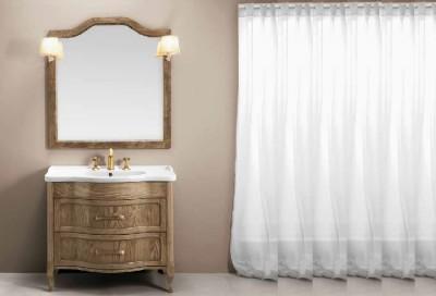 poza Set mobilier de baie cu lavoar si oglinda EBAN seria RACHELE 95 #162 SET
