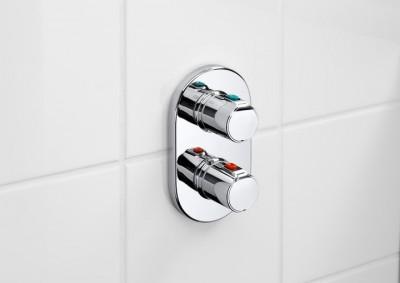 poza Baterie cada dus termostatata incastrata ROCA seria VICTORIA 5A2818C00