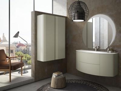 Set mobilier de baie Baden Haus Eden 120 gri natural