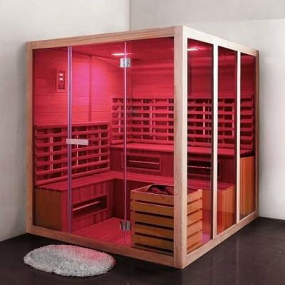 poza Cabina de sauna WELLIS seria ECLISE