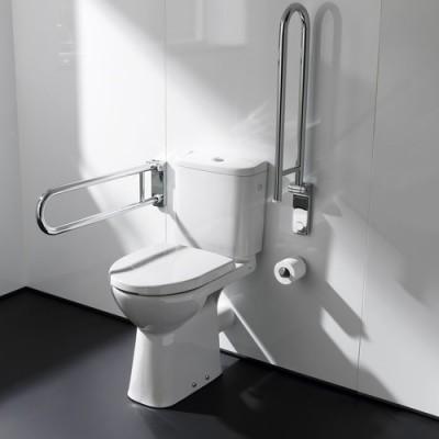 poza Set vas WC cu rezervor pentru persoanele cu dizabilitati ROCA seria ACCESS 342236000+341230000