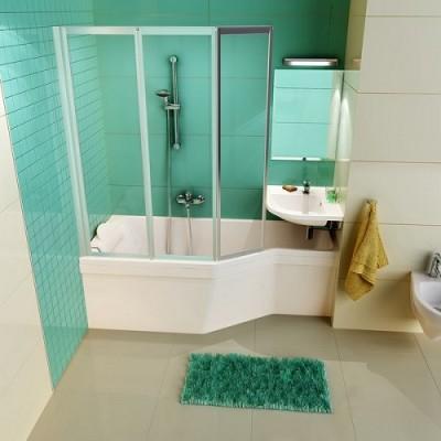 poza Paravan pentru cada de baie asimetrica RAVAK seria VS3
