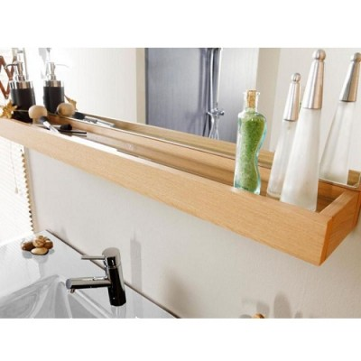 Set mobilier de baie cu lavoar si oglinda PARISOT seria OSLO 80 CERAMICA