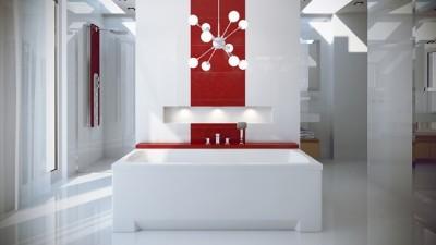 poza Panou pentru cada de baie dreptunghiulara BESCO seria OPTIMA