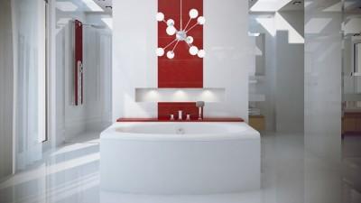 poza Panou pentru cada de baie dreptunghiulara BESCO seria TELIMENA