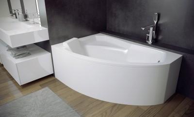 poza Panou pentru cada de baie asimetrica BESCO seria RIMA